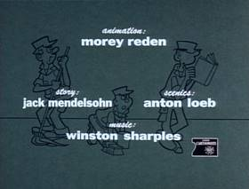 Screenshots from the 1963 King Features Productions cartoon Is This Drip Necessary