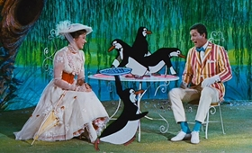 Screenshots from the 1964 Disney cartoon Mary Poppins