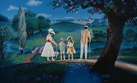 Screenshots from the 1964 Disney cartoon Mary Poppins