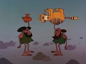 Screenshots from the 1964 Disney cartoon Disneyland Goes to the World