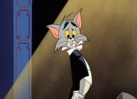 Screenshots from the 1964 MGM cartoon The Cat Above The Mouse Below