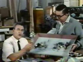 Screenshots from the 1964 Disney cartoon A Rag, a Bone, a Box of Junk