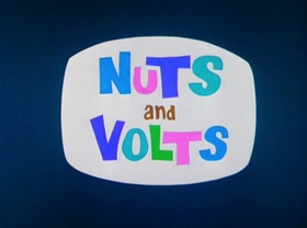 Screenshots from the 1964 Warner Brothers cartoon Nuts and Volts
