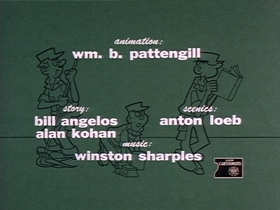Screenshots from the 1964 King Features Productions cartoon Leap No More My Lady