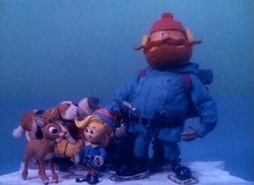 Screenshots from the 1964 Rankin/Bass cartoon Rudolph the Red-Nosed Reindeer