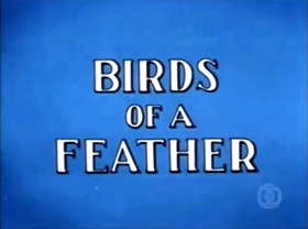 Screenshots from the 1965 Walter Lantz cartoon Birds of a Feather