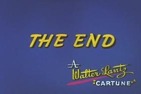 Screenshots from the 1965 Walter Lantz cartoon Guest Who?