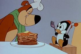 Screenshots from the 1965 Walter Lantz cartoon Half-Baked Alaska