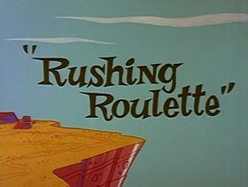 Screenshots from the 1965 Warner Bros. cartoon Rushing Roulette