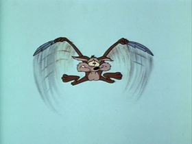 Screenshots from the 1965 Warner Brothers cartoon Tired and Feathered