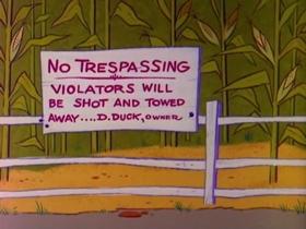 Screenshots from the 1965 Warner Brothers cartoon Chili Corn Corny