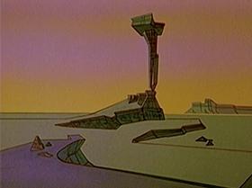 Screenshots from the 1965 Warner Bros. cartoon Roadrunner a Go Go