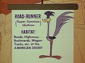 Screenshots from the 1965 Warner Brothers cartoon Zip Zip Hooray