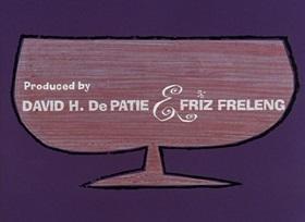 Screenshots from the 1965 DePatie Freleng cartoon Pickled Pink