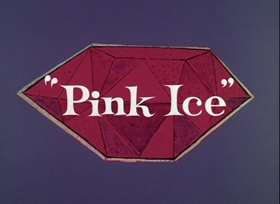 Screenshots from the 1965 DePatie Freleng cartoon Pink Ice
