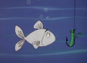 Screenshots from the 1965 DePatie Freleng cartoon Reel Pink
