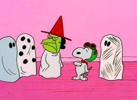 Screenshots from the 1966 Bill Melendez Productions cartoon It
