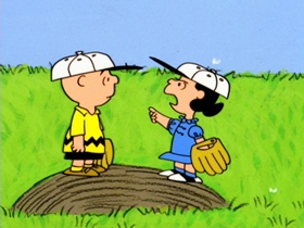 Screenshots from the 1966 Bill Melendez Productions cartoon Charlie Brown