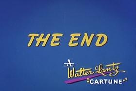 Screenshots from the 1966 Walter Lantz cartoon Foot Brawl