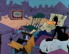 Screenshots from the 1966 Warner Brothers cartoon Muchos Locos