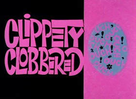 Screenshots from the 1966 Warner Brothers cartoon Clippety Clobbered