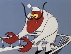 Screenshots from the 1966 DePatie Freleng cartoon Reaux, Reaux, Reaux Your Boat