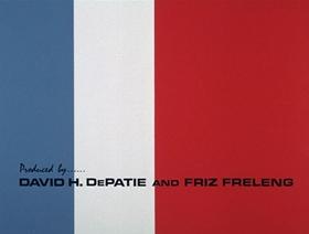 Screenshots from the 1966 DePatie Freleng cartoon Napoleon Blown-Aparte