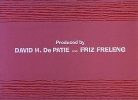 Screenshots from the 1966 DePatie Freleng cartoon Pink, Plunk, Plink