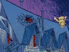 Screenshots from the 1966 DePatie Freleng cartoon Ape Suzette