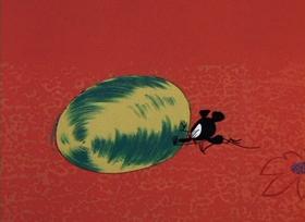 Screenshots from the 1966 DePatie Freleng cartoon Pink-A-Boo