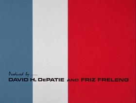 Screenshots from the 1966 DePatie Freleng cartoon Unsafe and Seine