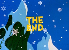 Screenshots from the 1966 MGM cartoon How The Grinch Stole Christmas!
