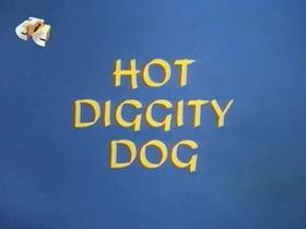 Screenshots from the 1967 Walter Lantz cartoon Hot Diggity Dog