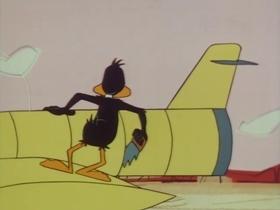 Screenshots from the 1967 Warner Brothers cartoon Quacker Tracker