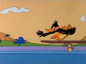 Screenshots from the 1967 Warner Brothers cartoon The Music Mice-Tro