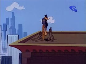 Screenshots from the 1967 Warner Brothers cartoon The Spy Swatter