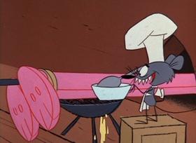 Screenshots from the 1967 DePatie Freleng cartoon Pinknic