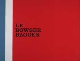 Screenshots from the 1967 DePatie Freleng cartoon Le Bowser Bagger