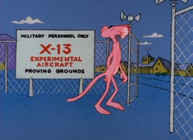 Screenshots from the 1967 DePatie Freleng cartoon Jet Pink
