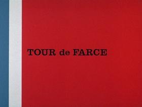 Screenshots from the 1967 DePatie Freleng cartoon Tour de Farce