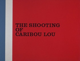 Screenshots from the 1967 DePatie Freleng cartoon The Shooting of Caribou Lou