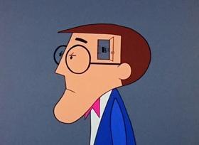 Screenshots from the 1968 Warner Brothers cartoon Norman Normal