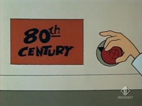 Screenshots from the 1968 Warner Brothers cartoon See Ya Later Gladiator