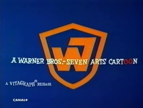 Screenshots from the 1968 Warner Brothers cartoon Chimp and Zee