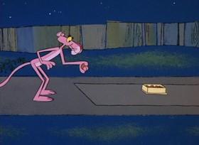 Screenshots from the 1968 DePatie Freleng cartoon Pinkadilly Circus