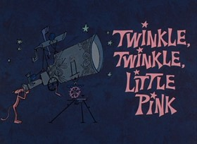 Screenshots from the 1968 DePatie Freleng cartoon Twinkle, Twinkle Little Pink