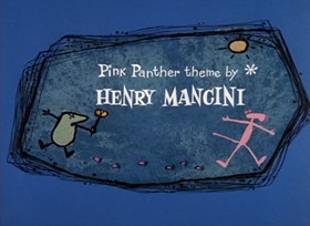 Screenshots from the 1968 DePatie Freleng cartoon Prehistoric Pink