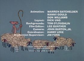 Screenshots from the 1968 DePatie Freleng cartoon Little Beaux Pink