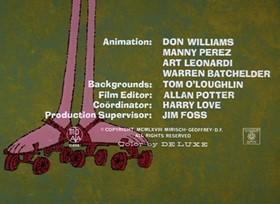 Screenshots from the 1968 DePatie Freleng cartoon Tickled Pink