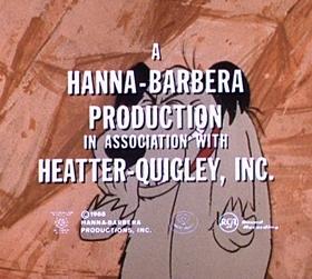Screenshots from the 1968 Hanna-Barbera cartoon Idaho a Go-Go